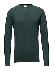M. Cotton Merino Sweater - STONE GREE