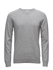 M. Cotton Merino Sweater - LIGHT GREY