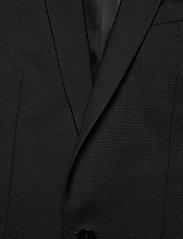 Filippa K - M. Christian Cool Wool Jacket - enkeltradede blazere - black - 2