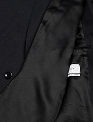 Filippa K - M. Christian Cool Wool Jacket - enkeltradede blazere - dk. navy - 4
