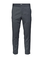 M. Terry Gabardine Pants - BLUE GREY