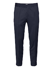 M. Terry Gabardine Pants - DARK BLUE
