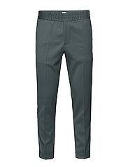 M. Terry Gabardine Pants - DARK MINT