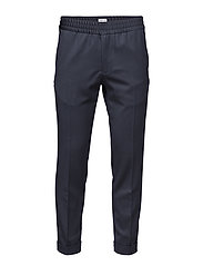 M. Terry Gabardine Pants - NAVY