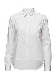 Short Cotton Shirt - WHITE