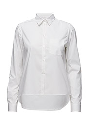 Short Cotton Shirt - WHITE