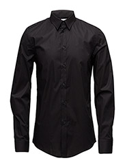 M. Paul Stretch Shirt - BLACK