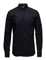 M. Paul Stretch Shirt - NAVY