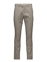 M. Liam Cotton Stretch Chino - CHERT GREY