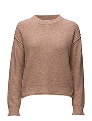 Cropped Pullover - ALMONDINE