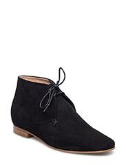 Chris Desert Boot - BLACK SUED