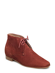 Chris Desert Boot - DK RED RUS