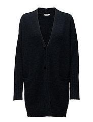Cozy Wool Cardi - GRAPE MEL.
