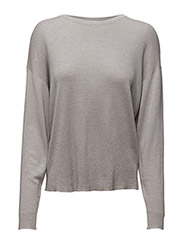 Lurex Sweater - SILVER