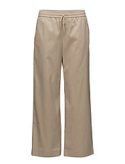 Rylie Cropped Pants - SAND