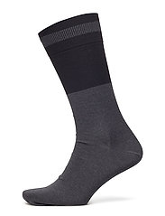 M. Mercerised Cotton Sock - BLACK/ BLA