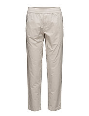 M. Terry Cropped Cotton Pants - SILVER BEI
