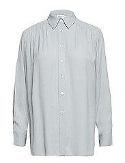 Feminine Shirt - DOVE BLUE