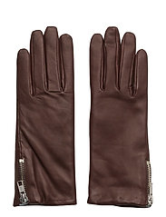 Zip Glove - BORDEAUX