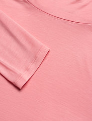 Filippa K - Tencel Polo Neck Top - langærmede toppe - taffy pink - 2