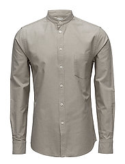 M. Pierre CL Oxford Shirt - COIN/ OLIV