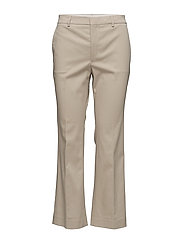Hudson Cotton Cropped Trousers - HEMP