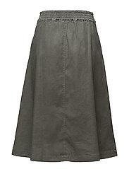 Flared Pleat Skirt