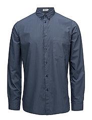 M. Peter Washed Poplin Shirt - COASTAL