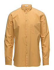 M. Peter Washed Poplin Shirt - HONEY
