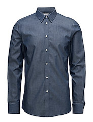 M. Pierre Chambray Shirt - PACIFIC