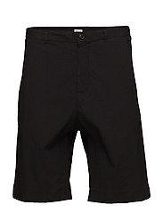 M. Pieter Seersucker Shorts - BLACK