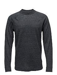 M. Linen Sweater - DK. GREY M