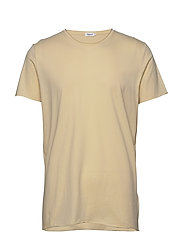 M. Roll Neck Tee - ALMOND WHI