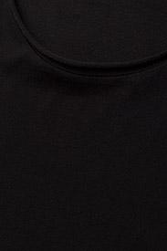 Filippa K - M. Roll Neck Tee - basic t-shirts - black - 2