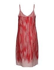 Strappy Print Dress
