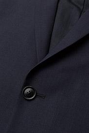 Filippa K - M. Daniel Knit Jacket - enkeltradede blazere - navy - 2