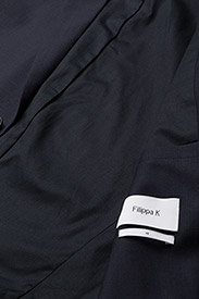 Filippa K - M. Daniel Knit Jacket - enkeltradede blazere - navy - 4