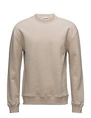 M. Jersey Sweatshirt - LIGHT BEIG