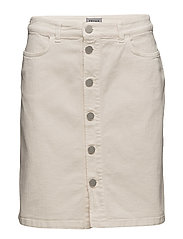Filippa K - Ecru Denim Skirt