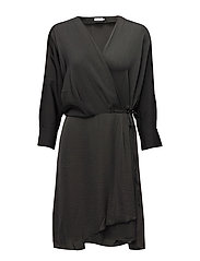 Slinky Wrap Dress - ENIGMA