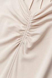 Filippa K - Crepe Jersey Dress - short dresses - bisque - 2