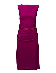 Ruched Jersey Dress - ORCHID