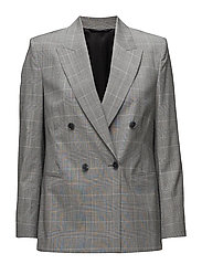 Katie Check Suit Jacket - CHECKS