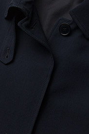 Filippa K - Sadie Duster Coat - light coats - navy - 3