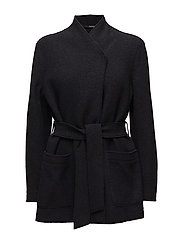 Leia Belt Jacket - BLACK