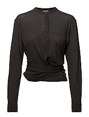 Jersey Tie Blouse - ENIGMA