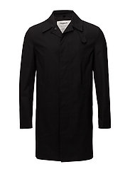 M. Waxed Carcoat - BLACK