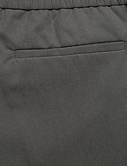 Filippa K - M. Terry Cropped Linen Slacks - casual broeken - green grey - 4