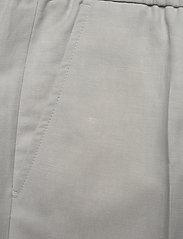 Filippa K - M. Terry Cropped Linen Slacks - pantalons décontractés - sterling g - 2
