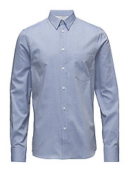 M. Pierre Light Oxford Shirt - AQUATIC ME